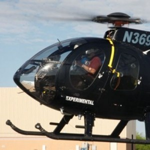 Van Horn starts flight testing MD500 main blades