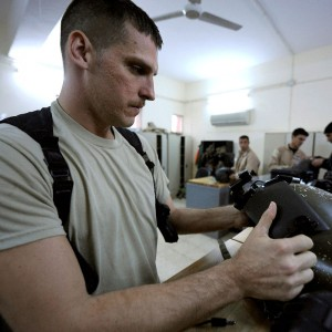 US Huey advisors step back, Iraqi instructors take lead