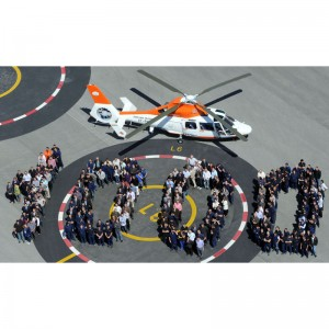 Eurocopter delivers the milestone 1,000th Dauphin