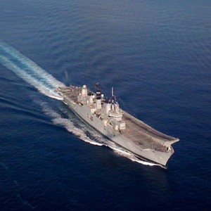 UK – Ark Royal aircraft carrier will not become heliport