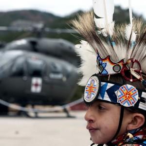 South Dakota NG and Lakota Nation join to welcome UH-72
