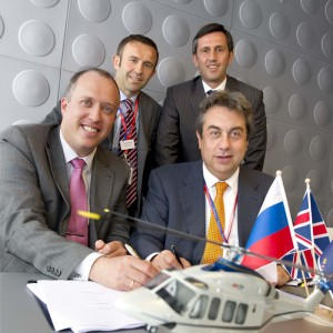 Exclases Holdings signs for eight AW139s for Russian market