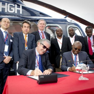 Caverton Helicopters signs for three AW139s