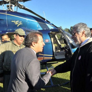 Taiwan donates Bell 427 to President of Paraguay
