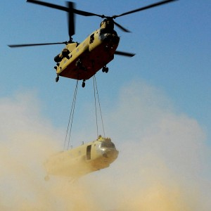 1st Air Cavalry conducts rare sling load operation in Afghanistan