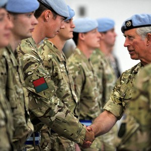Prince Charles honours British Apache crews