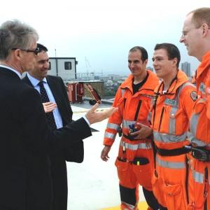 London's Air Ambulance hosts Norwegian delegation