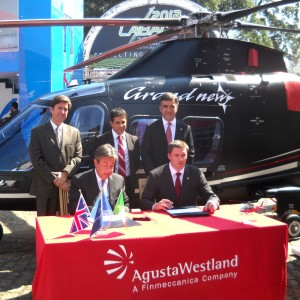 LABACE – AgustaWestland adds sales representative for Chile and Peru