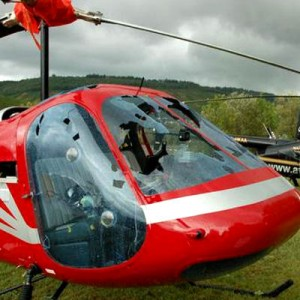 Hailstorm badly damages 18 helicopters