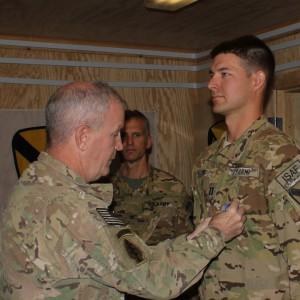 MH-47G pilot awarded Distinguished Flying Cross