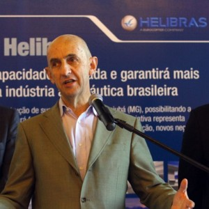 EADS CEO visits Helibras factory