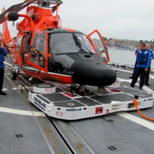 R&D results in new HH-65 deck handling solution