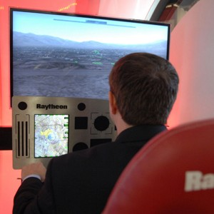 State of the art display unit for helicopters at AUSA