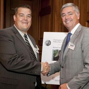 AgustaWestland honours physicist with Homeland Security award