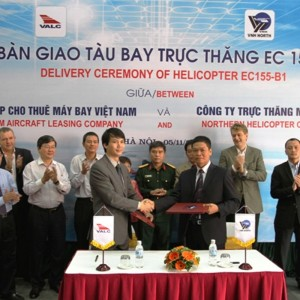 Northern Vietnam Helicopter Corp receives EC155