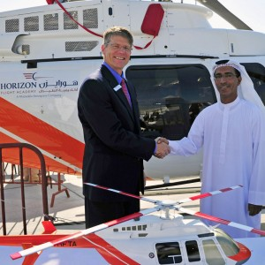 Bell honours relationship with Horizon Flight Training Academy