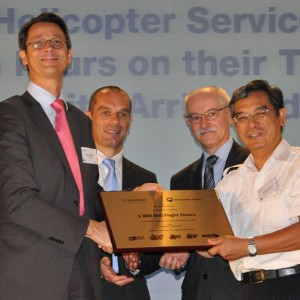 Malaysian Helicopter Services reaches 1,000,000 hours with Turbomeca