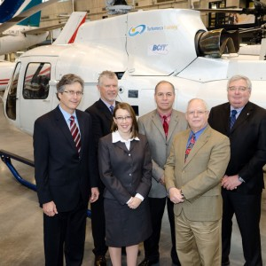 Eurocopter Canada delivers AS350 training aid to BCIT