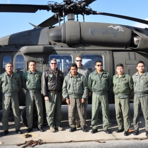 Kentucky National Guard share knowledge with Ecuadorian Army Air Group