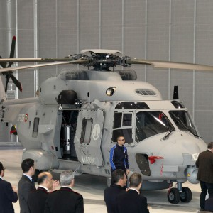 AgustaWestland NH90 assembly line celebrates one year and two deliveries