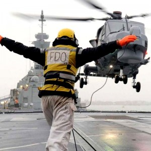 Lynx Wildcat makes first deck landings