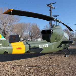 MAD restores retro-painted AH-1 for Centennial of Naval Aviation