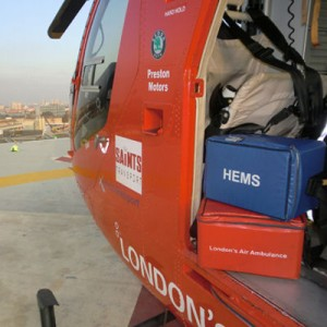 London's Air Ambulance depends on Versapak bags