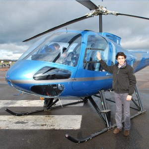 16th birthday first solo on turbine and piston helicopters