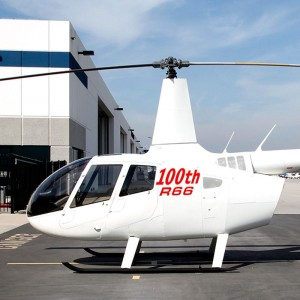 Robinson delivers R66 serial number 100