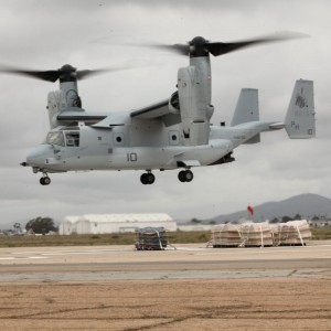 MV-22B Ospreys arrive at MCAS Futenma