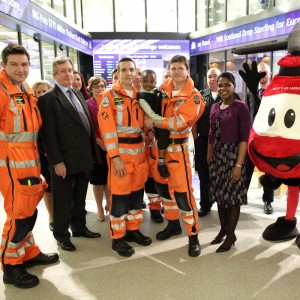 London Stock Exchange opened by London's Air Ambulance