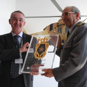 Moroccan Royal Gendarmerie recognized for 50 years of Eurocopter operations