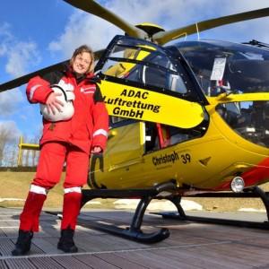 ADAC welcomes first female pilot