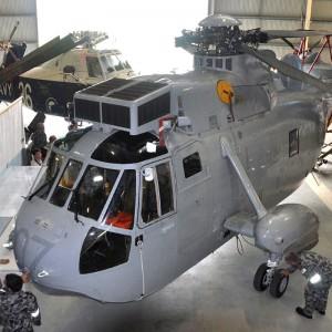 Shark 07 arrives at Australia's Fleet Air Arm Museum