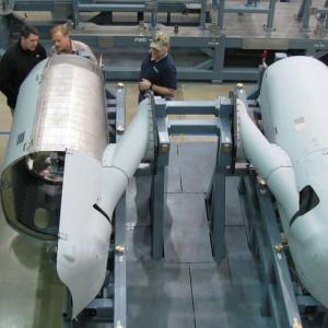 Aurora delivers engine nacelles to CH-53K program