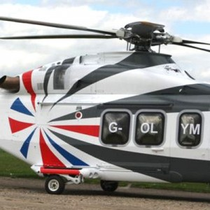 AgustaWestland adapts house colours for Olympics