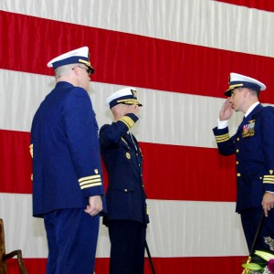 Change of command at US Coast Guard Air Station Sitka