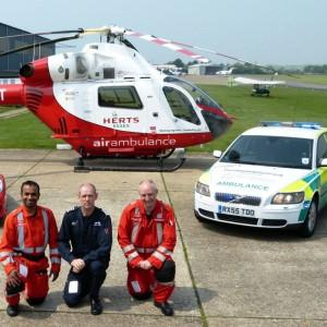 UK – Herts Air Ambulance adds new response vehicle