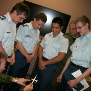 408 Tac Hel Sqn helps Air Cadets prepare for UAV competition