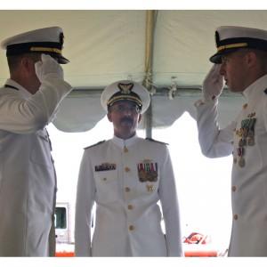 CGAS New York Change of Command