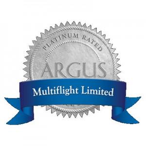 Multiflight Charter awarded Platinum Rating by ARGUS International