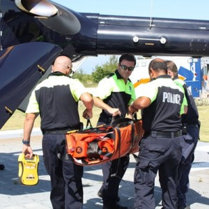 Cayman Police helicopter crew obtain EMS certification