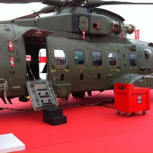 Red Box International powered AgustaWestland at Farnborough Air Show