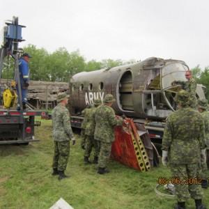 408 Tac Hel Squadron help move Flying Banana across Canada