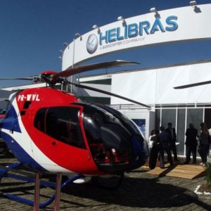 Helibras delivers new EC120 and AS350B3e at LABACE 2012