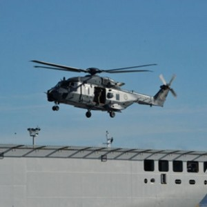 Successful NH90 trial onboard HMNZS Canterbury