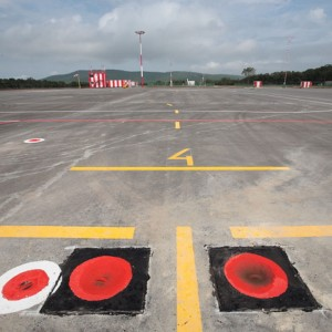 Heliport construction completed on Russky Island