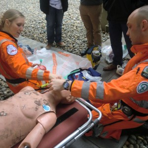"London's Air Ambulance supports ""medical skills for young offenders"" project"