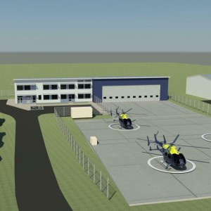 UK – Construction starts on Exeter operations unit for police and air ambulance