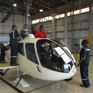 Nigerian Air Force take delivery of first two R66s
